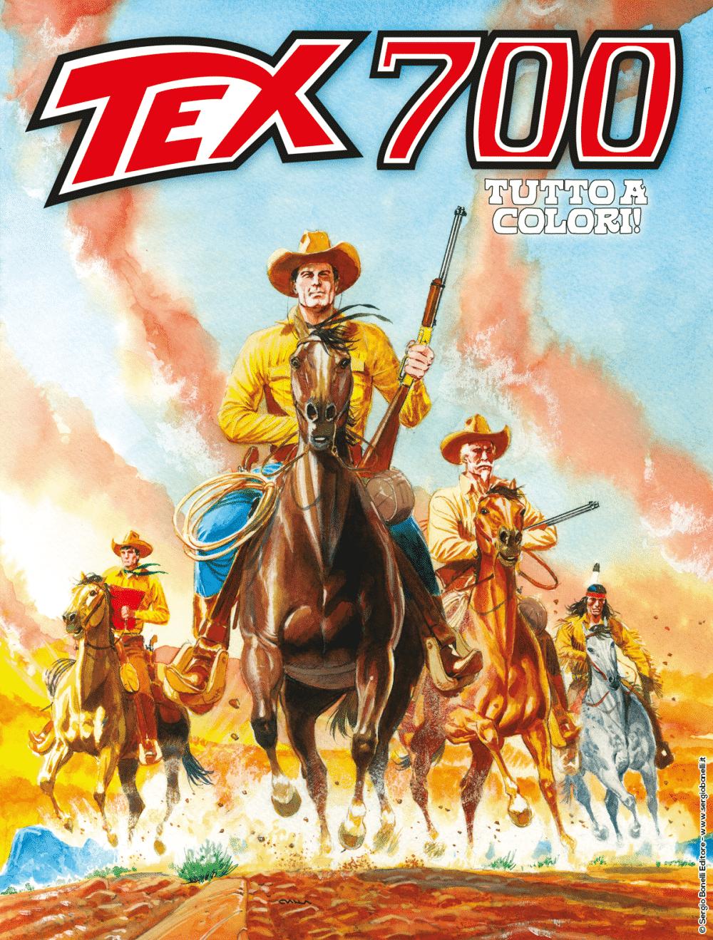 Anteprima: Tex #700 – L'oro dei Pawnee (Boselli, Civitelli)