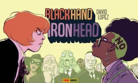 Blackhand Ironhead copertina