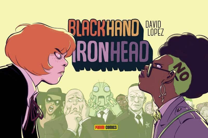 Generazioni di supereroi: Blackhand Ironhead