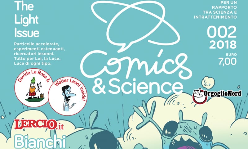 Comics&Science The Light Issue: quando il fumetto mastica la scienza