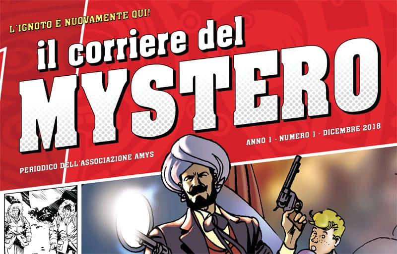 """È arrivato il """"Corriere del Mystero""""!"""