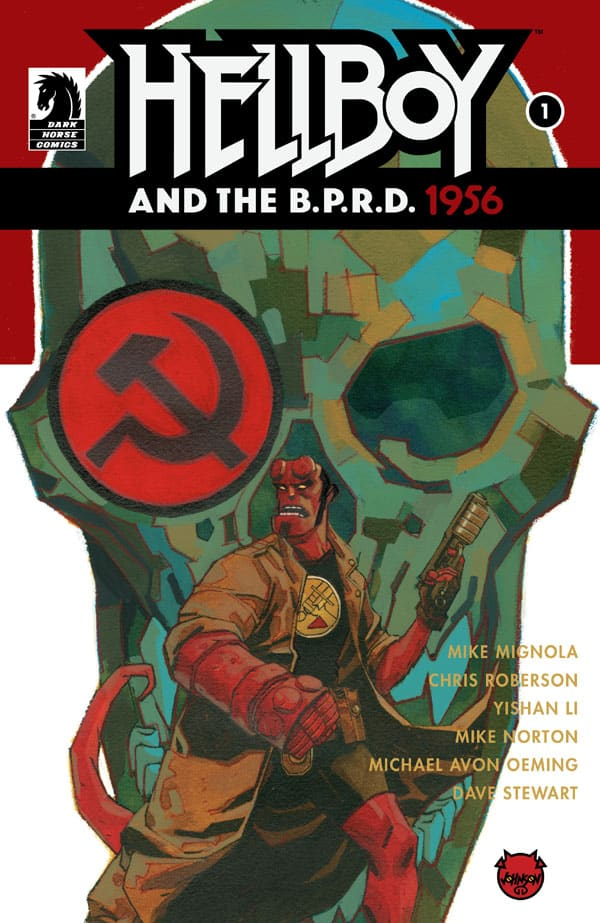 Hellboy-and-the-B.P.R.D.-1956-1_First Issue