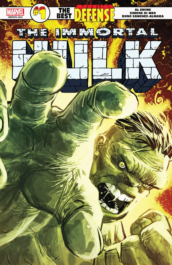 Immortal-Hulk-The-Best-Defense-1_First Issue