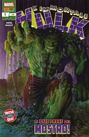 L'immortale Hulk #1 (Ewing , Bennett)_BreVisioni