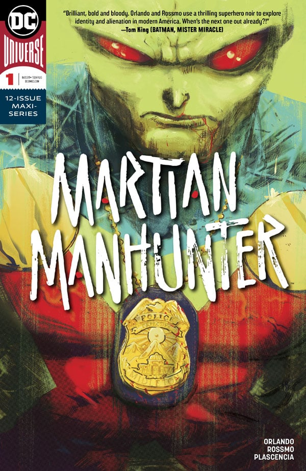 Martian-Manhunter-1_First Issue