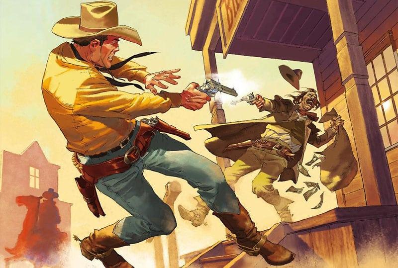 Color Tex #14: due giovani Kit e il solito Tex