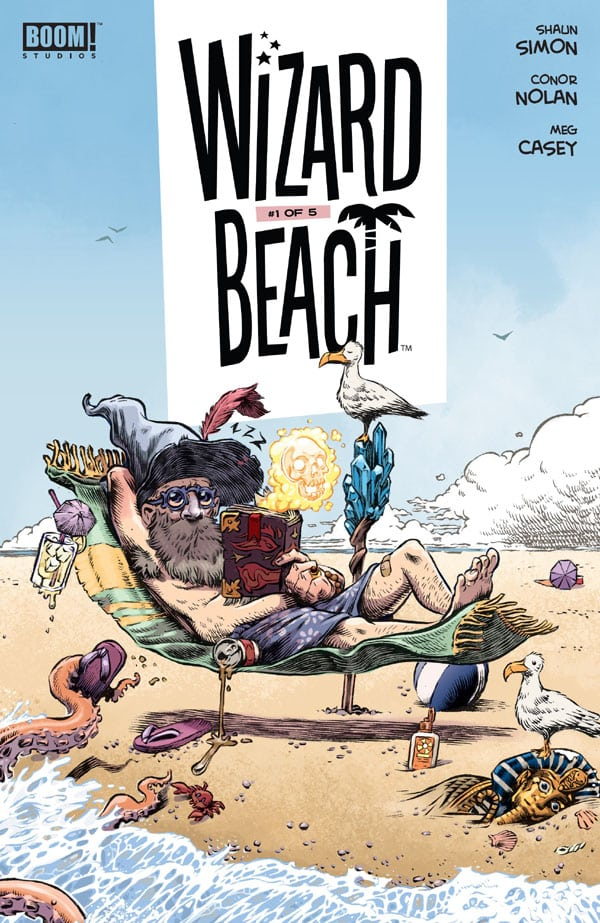 Wizard-Beach-1_First Issue
