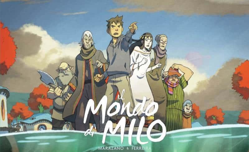 Il mondo di Milo, avventura all'ombra di Miyazaki