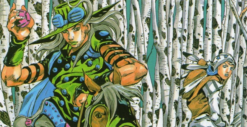 Le bizzarre avventure di JoJo: Steel Ball Run #9 (Araki)