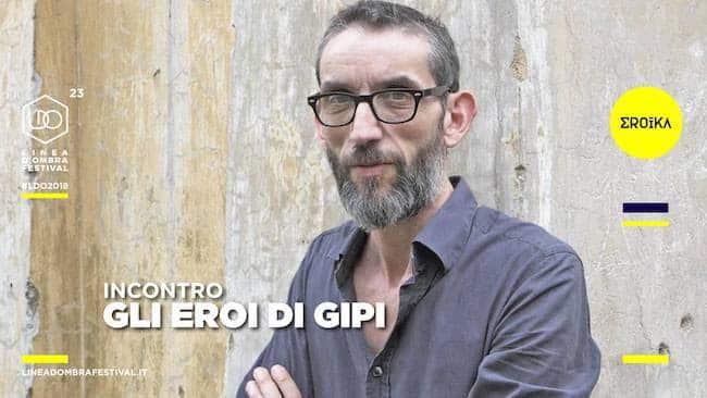Venerdi 14 dicembre al festival Linea d'Ombra ospite Gipi