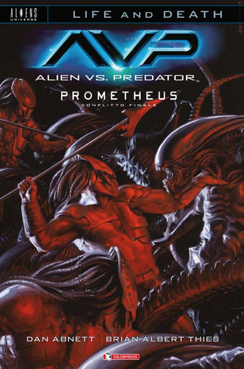 "E' disponibile l'ultimo capitolo di ""Life and Death"": Alien vs Predator"