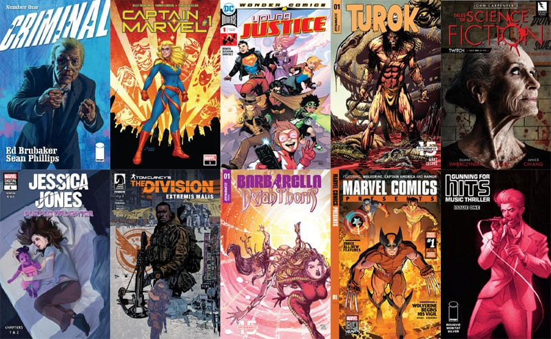 First Issue #39: storici ritorni, da Criminal a Young Justice