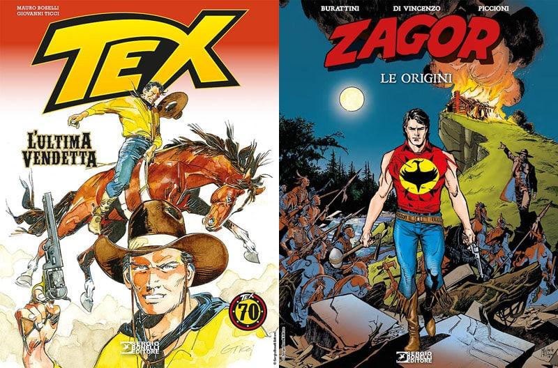 """SBE presenta """"Tex – L'ultima vendetta"""" e """"Zagor – Le origini"""""""