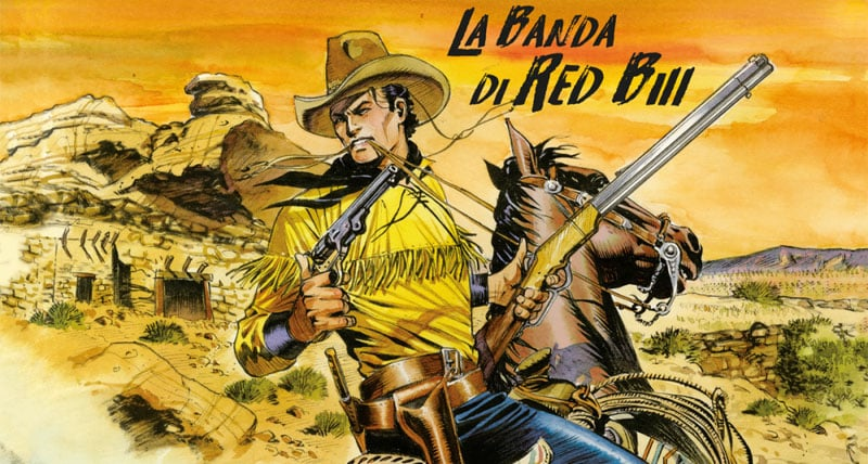 Tex Willer #2 – La banda di Red Bill (Boselli, De Angelis)