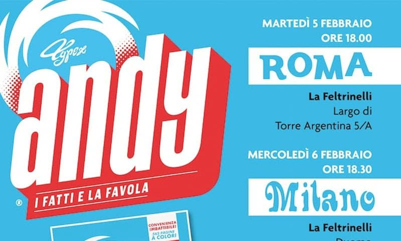 "Typex presenta in Italia ""Andy"""