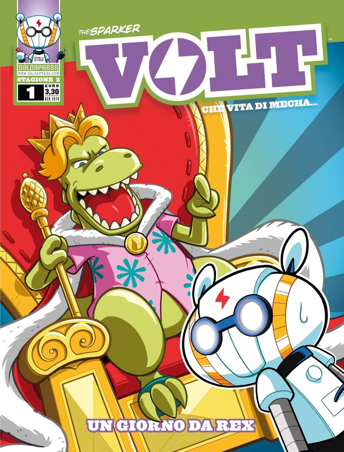 VOLT torna il 31 gennaio col primo numero della seconda stagione