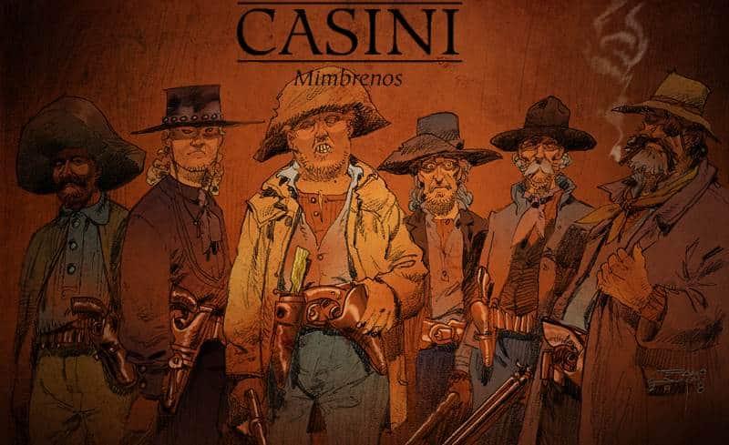 La genesi di Mimbrenos di Stefano Casini: lo studio dei personaggi