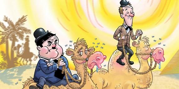 Rilancio a fumetti per Stanlio & Ollio