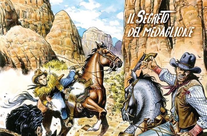 Tex Willer #3 – Il segreto del medaglione (Boselli, De Angelis)