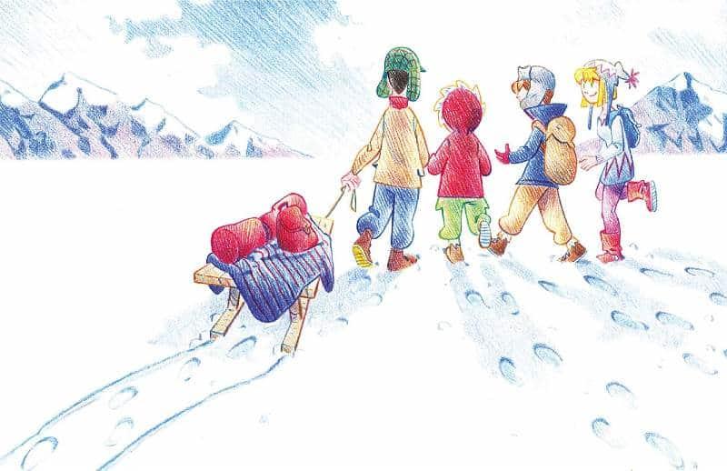 Il calore della neve: fratellanza, amore e amicizia tra le nevi norvegesi