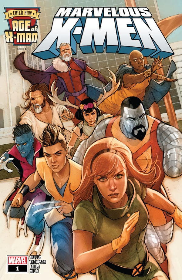 Age Of X-Man - The Marvelous X-Men 1