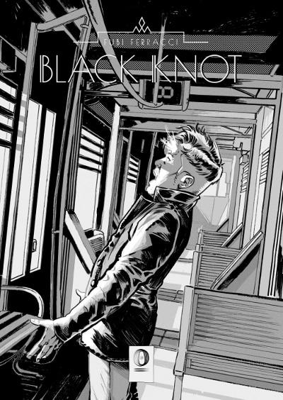 BLACK KNOT Copertina Ferracci