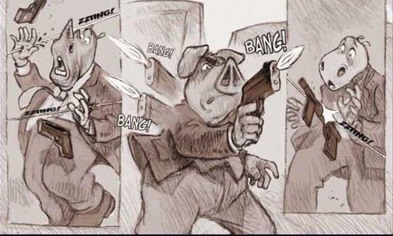 Cartoon Network fumetti porno