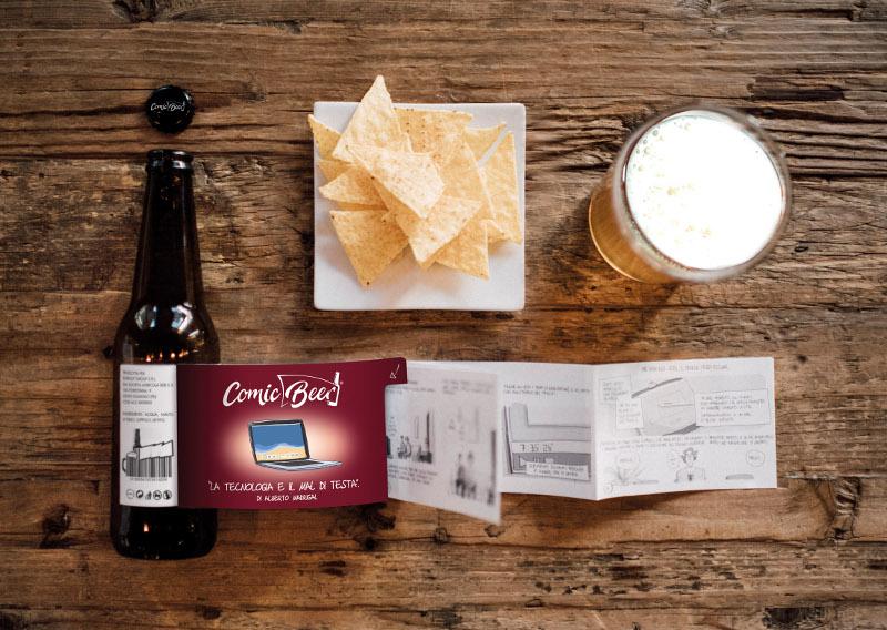 Comic Beer: la birra a fumetti creata da Reverse Innovation_Notizie