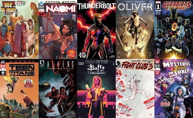 First Issue #40: arriva Naomi e tornano i Guardiani
