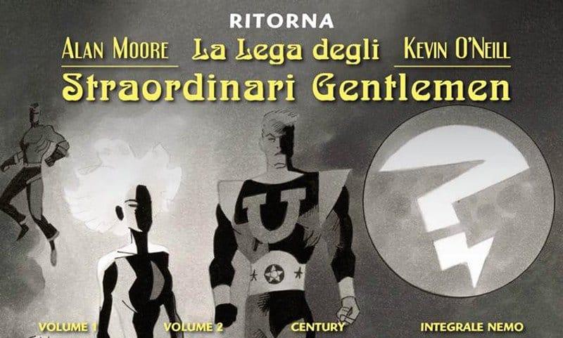 """Nuova edizione BAO per """"La Lega degli Straordinari Gentlemen"""""""