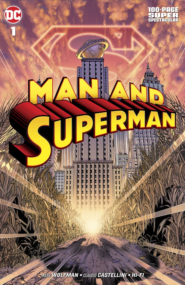 Man and Superman 100-Page Super Spectacular 1