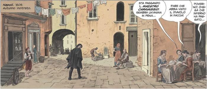 PaniniComics_Manara_Caravaggio_LaGrazia_vignetta 6