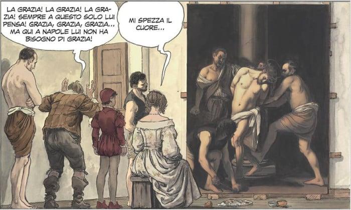 PaniniComics_Manara_Caravaggio_LaGrazia_vignetta 8