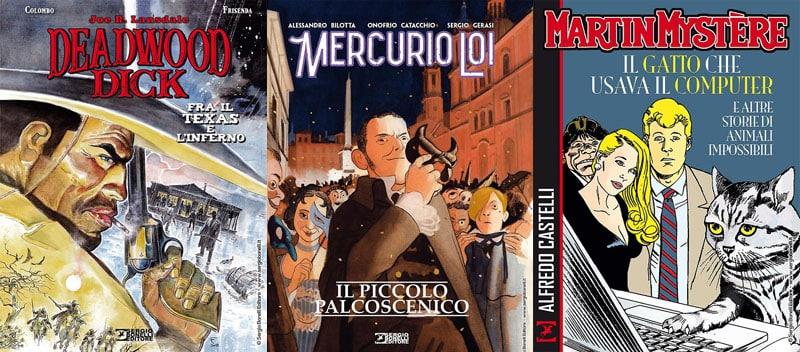 A febbraio in libreria: Mercurio Loi, Deadwood Dick e Martin Mystère
