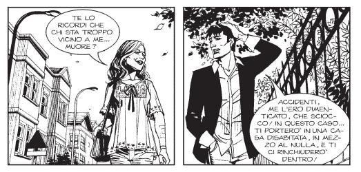 Dylan Dog #389: Sally Sopravvissuta e maledetta_Recensioni