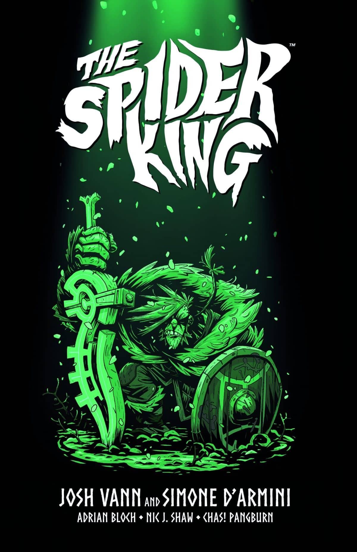 SaldaPress pubblica THE SPIDER KING di Josh Vann e Simone D'Armini