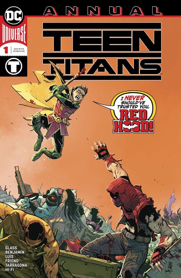 Teen Titans (2016-) Annual 1