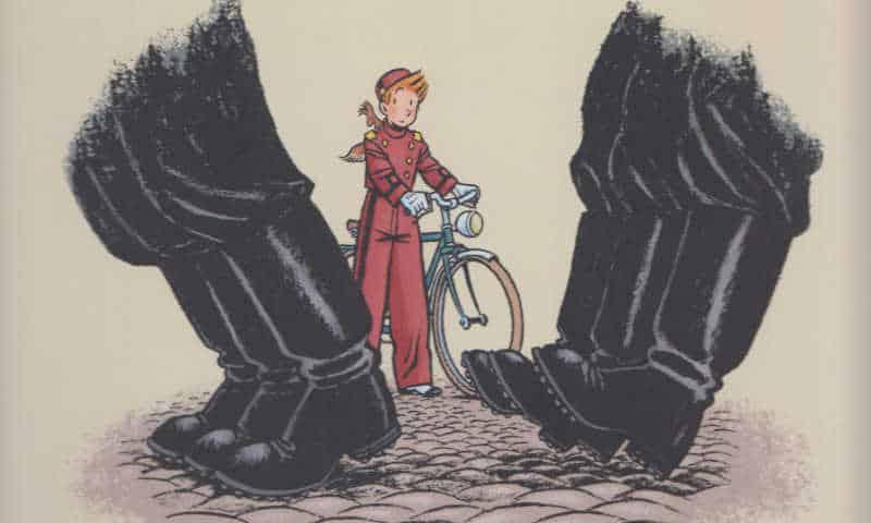 La speranza di Spirou in tempo di guerra secondo Émile Bravo