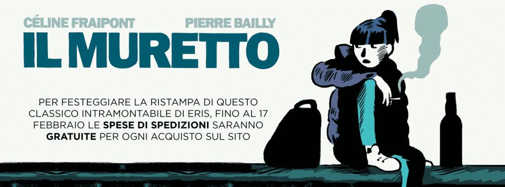 "Eris ristampa ""Il Muretto"" di Céline Fraipont e Pierre Bailly"