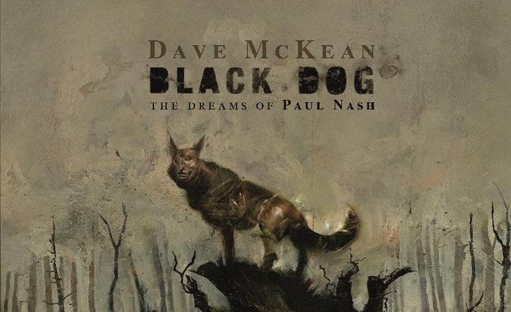 Edizioni Inkiostro: Venerdì 15 marzo aprono le prevendite di BLACK DOG: The Dreams of Paul Nash, di Dave McKean