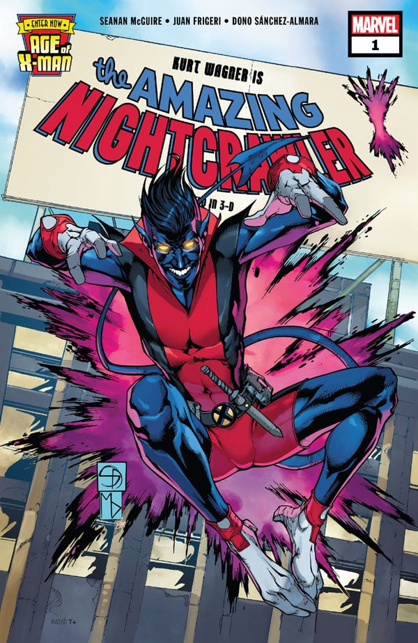 Age Of X-Man - The Amazing Nightcrawler 1