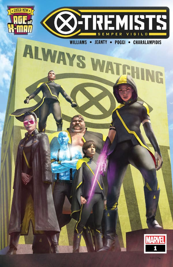 Age Of X-Man - X-Tremists 1