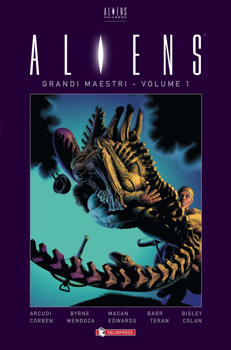 Aliens Grandi Maestri_Vol1_cover