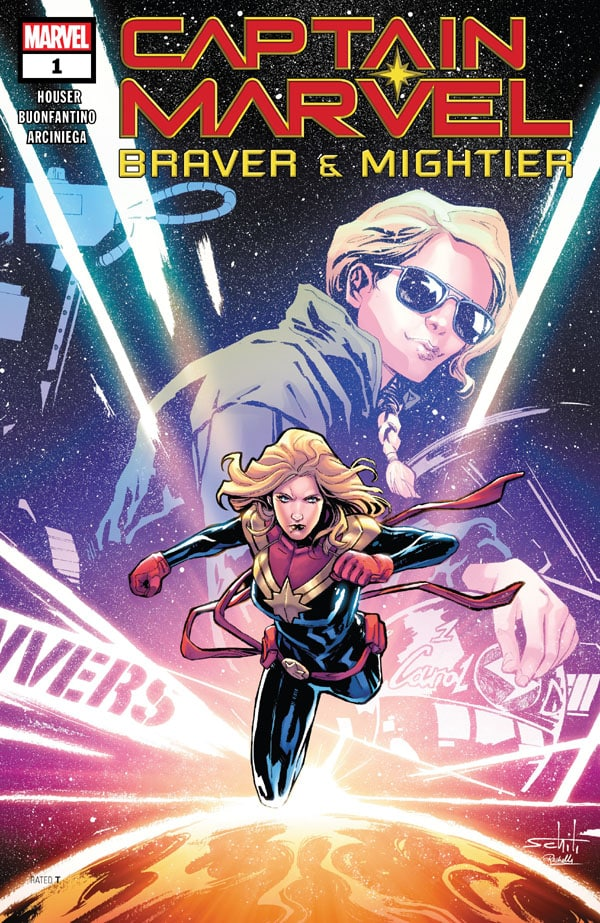 Captain Marvel - Braver & Mightier 1