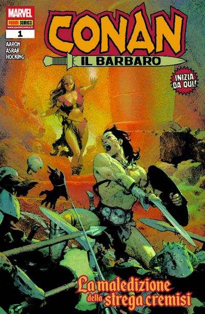 Conan il barbaro e il ritorno alla Casa delle Idee_Recensioni