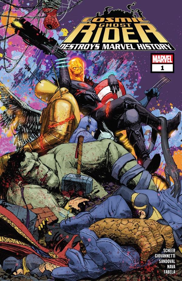 Cosmic Ghost Rider Destroys Marvel History 1