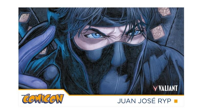 Juan José RYP sarà ospite di Star Comics a COMICON 2019