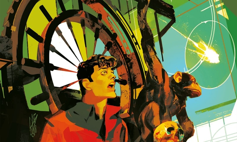 Dylan Dog #390 – La caduta degli dei (Barbato, Casertano)