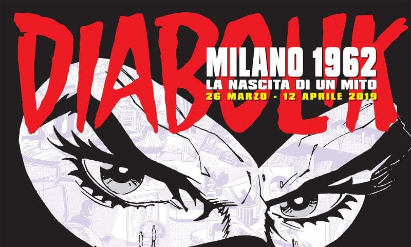 Diabolik in mostra al Milano Urban Center