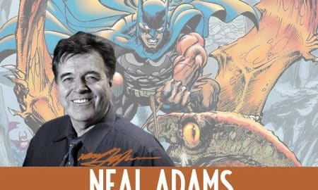 Neal Adams ospite d'onore di Etna Comics 2019